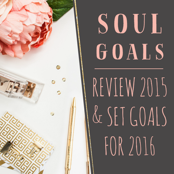 2015 Review & 2016 Goals