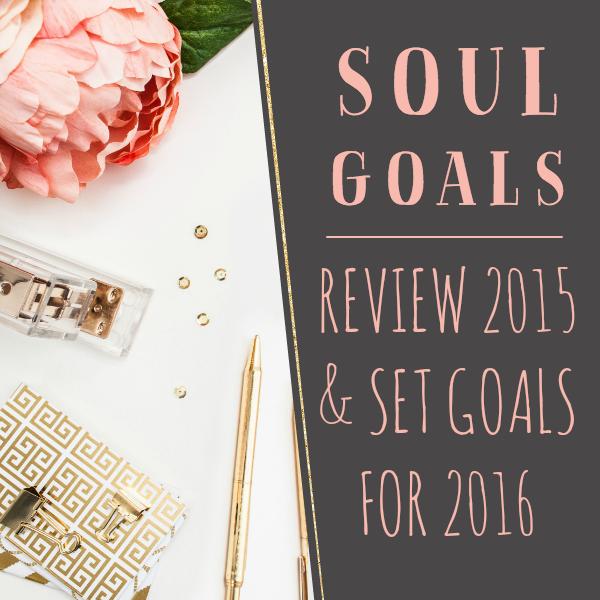 2015 Review & 2016 Goals