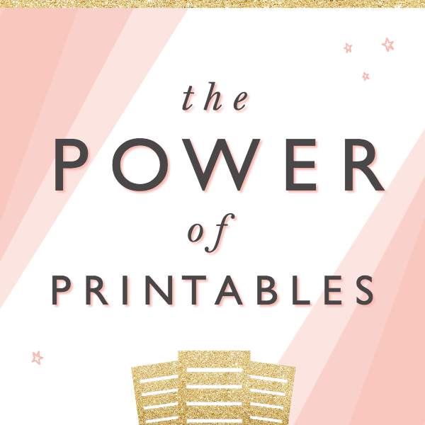 Powerful Printables Bundle