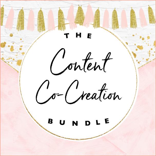 Content Co-Creation Bundle