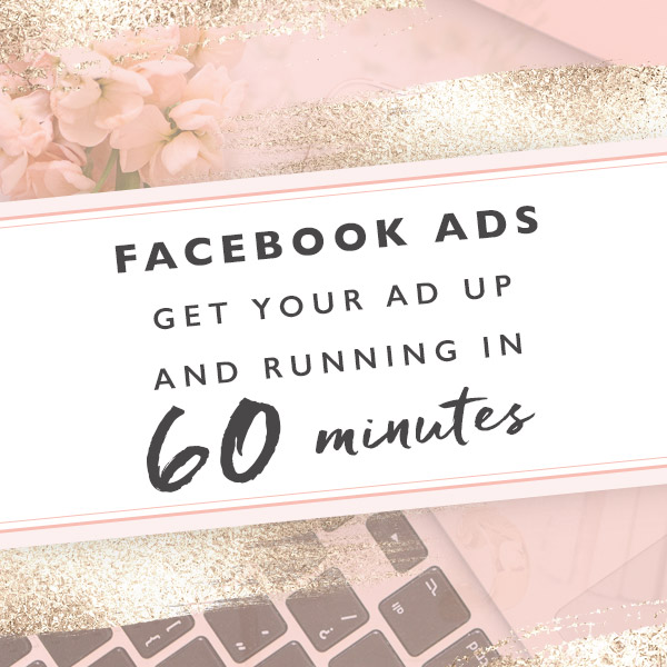 Facebook Ads - Get Your Ads Up and Running in 60 Minutes